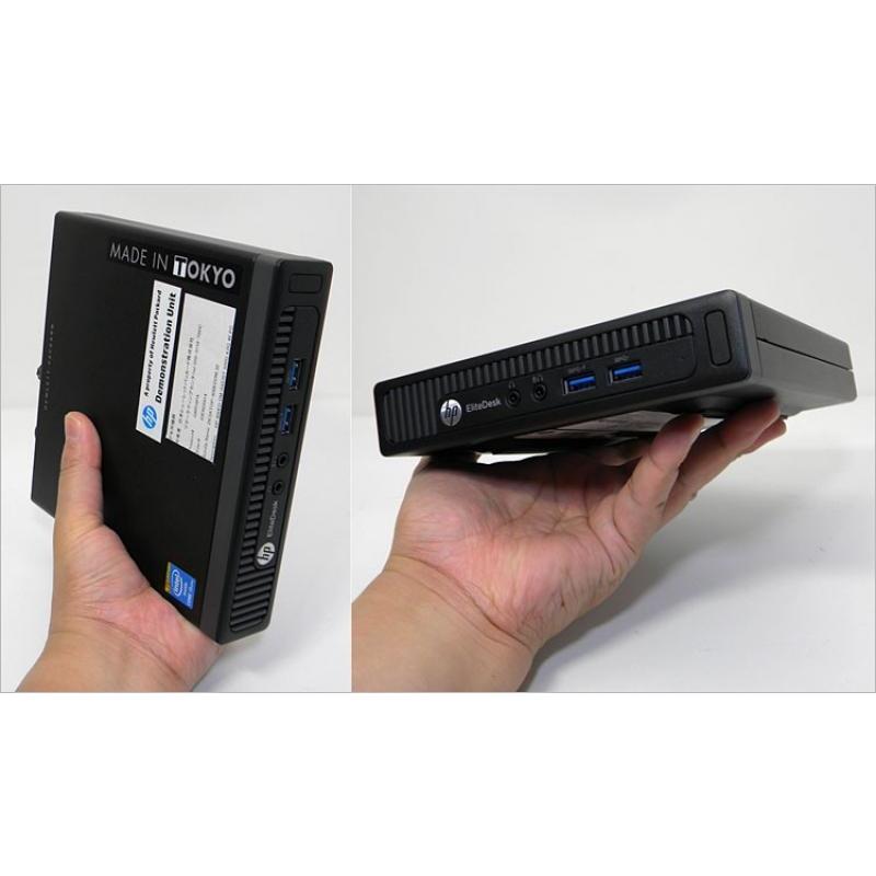 2350e2e038a HP ProDesk 800 G1 Desktop Mini PC i5-4570T/8GB RAM/128GB SSD/2 x ...
