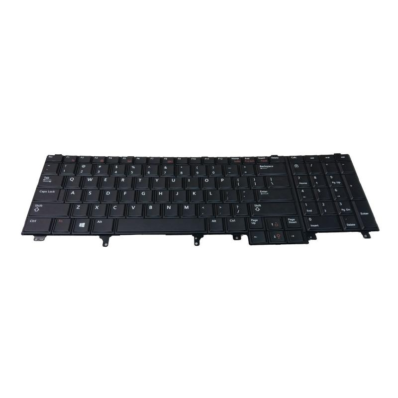 c356f608578 Klaviatuur Dell Latitude E5520 E5530 E6520 E6530 E6540 M6600/ 02FD2H  US-laotusega, uus