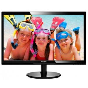 """24"""" Wide LED Philips 243V5L, reageerimiskiirus 1ms, HDMI-, VGA-sisend, Full HD resolutsioon 1920x1080, integreeritud kõlarid, kasutatud, garantii 1 aasta"""