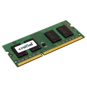 Sülearvuti SO-DIMM DDR3L 8GB PC3L-12800/1600 Crucial, 1.35V, uus, garantii 5 aastat