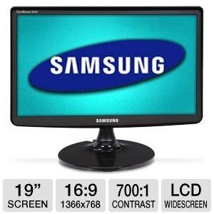"""19"""" Wide LED Samsung SyncMaster SA10, VGA-sisend, resolutsioon 1366x768, kasutatud, garantii 1 aasta [Soodushind!]"""