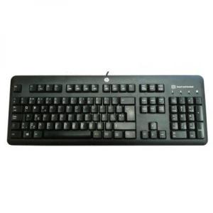 HP ID-kaardilugejaga klaviatuur KUS1206, eestikeelse laotusega, USB-liides, kasutatud, kontrollitud, garantii 6 kuud