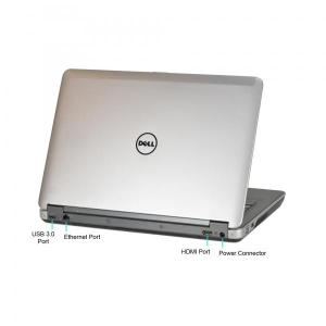 """Dell Latitude E6440 i5-4200M@2,5GHz/8GB RAM/256GB SSD/Intel HD4600 graafikakaart/14"""" HD LED (resolutsioon 1366x768)/veebikaamera/DVD-RW/valgustusega skandinaavia klaver/aku tööaeg ~1.5h/Windows 10 Professional, kasutatud, garantii 1 aasta [Soodushind!]"""