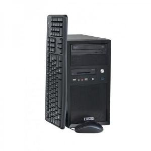 Ordi Electro Minitower i3-4170/8GB DDR3/128GB SSD & 500GB HDD/integreeritud videokaart/DVD-RW/ID-lugeja esipaneelil/Windows 10 Professional, kasutatud, garantii 1 aasta