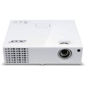 Projektor Acer X1373WH, heledus 3000 ANSI luumenit, WXGA resolutsioon 1280x800, HDMI-, VGA- & S-Video sisendid, lamp töötanud maksimaalselt ~300h, lambi ressurss 6000h (eco-mode), komplektis pult, kasutatud, garantii 6 kuud (ei laiene lambile)