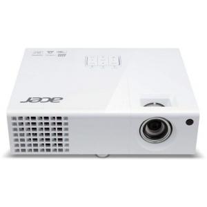 Projektor Acer X1373WH, heledus 3000 ANSI luumenit, WXGA resolutsioon 1280x800, HDMI-, VGA- & S-Video sisendid, lamp töötanud maksimaalselt ~2100h, lambi ressurss 6000h (eco-mode), kasutatud, garantii 6 kuud (ei laiene lambile) [Soodus!]