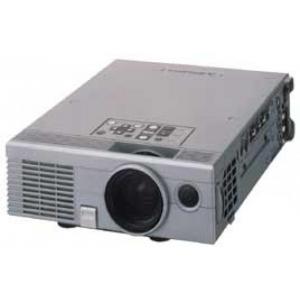 Mitsubishi LVP -S50UX/1024 X 768 resolutsioon/1000 luumenit/VGA ühendus/Lambi järelejäänud ressurss teadmata/Projektor on natuke tugevama müraga/Garantii 1 kuu, mis ei laiene lambile