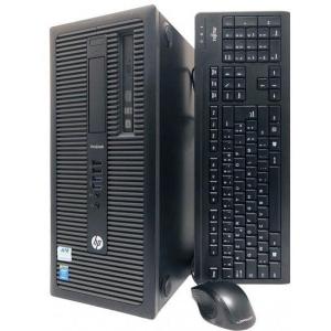 HP EliteDesk 800 G2 Minitower Core i5-6500/8GB DDR4/240GB uus SSD (gar 3a) & 500GB HDD/2x DisplayPort- & VGA-väljundid/Windows 10 Pro, kasutatud, Garantii 1 aasta