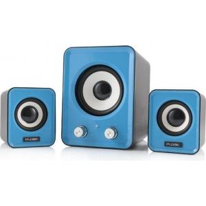 2.1 kõlarid Trust Ziva/12w/3,5mm analoogpistik/USB-toide/uus, garantii  2 aastat