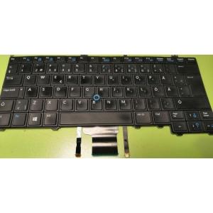 Dell Latitude E7240 E7440 valgustusega klaviatuur, SWE-asetus, kasutatud, garantii 6 kuud