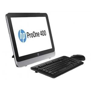 """HP ProOne 400 G1 AIO - Pentium G3220t/8GB DDR3/120GB SSD/20"""" Wide HD+ LED (1600x900)/DVD-RW/ wifi/kõlarid; Windows 10 Pro, kasutatud, garantii 1 aasta [ekraanil mõned kasutusjäljed]"""