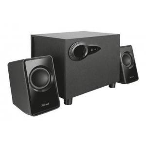 2.1 kõlarid Trust Avora, 3.5mm kõrvaklapiühendus , subwoofer 18W (9W RMS), Uus, Garantii 2 aastat
