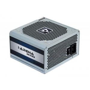 Toiteplokk ATX 500W Chieftec, 12cm vaikne ventilaator, 80 Plus, 4 x SATA & 2 x MOLEX & PCIe 6+2 pistik, uus, garantii 2 aastat
