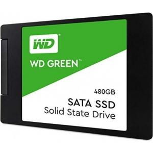 SSD SATA 480GB Western Digital Green, lugemine 540 MB/s, uus, garantii 3 aastat