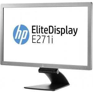"""27"""" HP Elitedisplay E271i, IPS-paneel, resolutsioon 1920x1080, värskenduskiirus 7ms, Displayport, DVI, VGA sisendid, USB-HUB, reguleeritava kõrgusega jalg, PIVOT, kasutatud, garantii 1 aasta"""