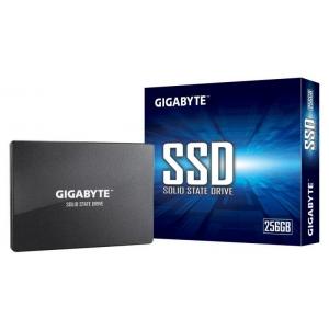 """GIGABYTE SATA 2.5"""" 256GB SSD, kirjutamiskiirus 500 MB/s, lugemiskiirus 520 MB/s, uus, garantii 3 aastat"""