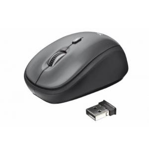 Juhtmevaba hiir must TRUST uus, garantii 2 aasta