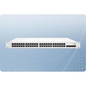 Cisco Meraki Cloud Managed MS250-48-HW\ 48 x 10/100/1000BASE-T, 4 x SFP+ 10GbE\ Kasutatud\Korpusel kulumisjäljed\Garantii 1 aasta.