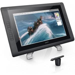 Graafikalaud Wacom Cintiq 22HD DTK-2200, FHD IPS (1920x1080), DVI, reguleeritav jalg, pliiats kaasas, kasutatud, garantii 1 aasta(ekraanil kaks tumedamat laiku) | Soodushind!