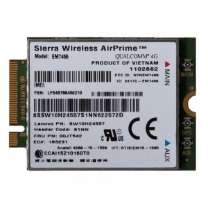 ThinkPad EM7455 4G LTE /Sierra Wireless AirPrime® EM7455, Garantii 6 kuud