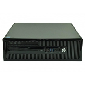 HP ProDesk 400 G1 SFF i5-4590@3.3GHz/8GB RAM/240GB uus SSD (gar 3a)/DVD-RW/ DVI /VGA-väljund/Windows 10 Professional, kasutatud, garantii 1 aasta