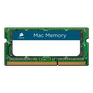 Sülearvuti mälu DDR3 8GB, 1333MHz, Corsair, uus, Kvalifitseeritud Apple mälu, garantii 5 aastat