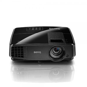 BenQ MS506 SVGA/4:3/3200Lm/800x600/13.000:1/Zoom 1.1x/3D/2xVGA,USB,RCA,RS232,S-Video/1.8kg/kõlar 2W/must/ kasutatud/ Garantii 1 kuu