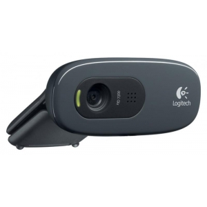 Logitech Webcam HD C270, USB2.0, 3.0 Megapixel, 1280x720 Pixel, kasutatud, Garantii 6 kuu
