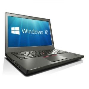 """Lenovo ThinkPad X250 i5-5300U/8GB RAM/240GB uus SSD (gar 3a)/12,5"""" HD LED (1366x768)/Intel HD5500 graafika/ID-lugeja//valgustusega eesti klaviatuur/aku ~3h/Windows 10 Pro, kasutatud, garantii 1 aasta [ekraanil mõned kasutusjäljed]"""