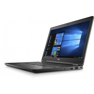 "Dell Latitude 5580 i5-6300U/8GB DDR4/256GB SSD/Intel HD 520 graafika/15,6"" HD LED (1366x768)/veebikaamera/täismõõdus eesti klaviatuur/aku ~3h/Windows 10 Pro, kasutatud, garantii 1a"