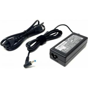 Sülearvuti laadija HP 19,5V, 3,33A, 65W, pistik 4,5x3,0 mm Smart (L blue), uus originaallaadija, garantii 1 aasta