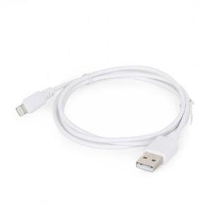 Lightning USB laadimiskaabel Apple iPhone & iPad seadmetele, Gembird, 2m, uus, garantii 2 aastat