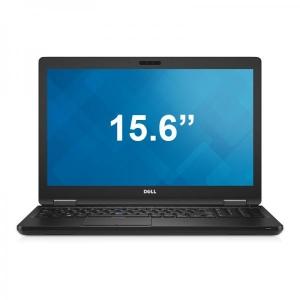 """Dell Latitude 5580 i5-6300U/8GB DDR4/256GB SSD/Intel HD 520 graafika/15,6"""" HD LED (1366x768)/veebikaamera/täismõõdus eesti klaviatuur/aku ~2h/Windows 10, kasutatud, garantii 1a [ekraanil vaevumärgatav laik]"""
