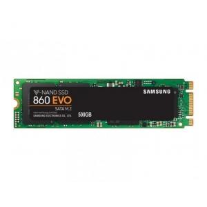 SSD SATA 500GB M.2 Samsung EVO 860 EVO 550MB/s lugemine, 520MB/s kirjutamine, uus, garantii 3 aastat