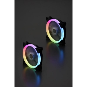 Hornet 120mm fan pakendita /SINGLE LINE RGB/ 3-pin