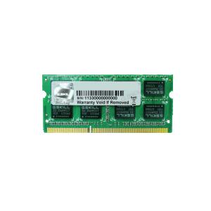 Sülearvutimälu G.SKILL DDR3 for Apple 4GB 1066MHz CL7 SO-DIMM 1.5V/ Garantii 3 aastat