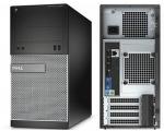 DELL Optiplex 3020 Minitower i3-4150@3,5GHz/8GB RAM/120GB uus SSD (garantii 3 aastat) & 500GB HDD/DVD-RW/Windows 10 Professional, kasutatud, garantii 1 aasta [Soodushind!]