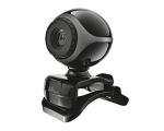 Veebikaamera Trust Exis mikrofoniga, resolutsioon 640x480, uus, garantii 2 aastat | Soodushind!