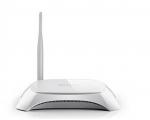 3G/4G-toega Wifi-ruuter TP-LINK TL-MR3420, 4 port 10/100Mbps HUB, töötab eesti 4G USB-pulkadega, kasutatud, garantii 6 kuud