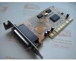 LPT-kaart SUN1889/1989 PCI, low-profile, kasutatud, garantii 6 kuud