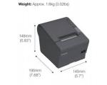 Tsekiprinter EPSON TM-T88IV, termoprinter, USB-liides, kasutatud, garantii 1 kuu