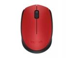 Juhtmevaba hiir Logitech m171 punane / sinine, USB, väikese nano-vastuvõtjaga, uus, garantii 1 aasta