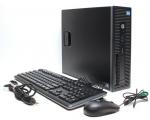 HP EliteDesk 600 G1 SFF i5-4570@max 3,6GHz (6MB cache)/8GB RAM/240GB uus SSD (gar 3a)/DVD-RW/2 x DisplayPort/VGA-väljund/Windows 10 Professional/Office 365 Academic veebiversioon, kasutatud, garantii 2 aastat