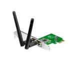 WIFI võrgukaart PCI-E Edimax N300 EW7612, 300Mbps, 802.11 b/g/n, kaasas madala korpuse (SFF, desktop) jaoks kinnituspaneel, uus, 2 välise antenniga, garantii 2 aastat