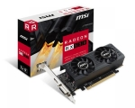 Videokaart MSI RX 550, PCI-E x16, 128-bit, 4GB GDDR5, HDMI- & DVI-väljundid, low-profile kaart, sobib desktop-arvutisse, uus, garantii 3 aastat
