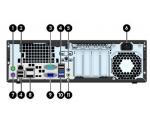 HP EliteDesk 800 G1 SFF i5-4590@3,3GHz (6MB cache)/8GB DDR3/180GB SSD/2 x DisplayPort/VGA-väljund/Windows 10 Professional, kasutatud, garantii 1 aasta