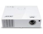 Projektor Acer X1373WH, heledus 3000 ANSI luumenit, WXGA resolutsioon 1280x800, HDMI-, VGA- & S-Video sisendid, lamp töötanud maksimaalselt ~800h, lambi ressurss 6000h (eco-mode), komplektis pult, kasutatud, garantii 6 kuud (ei laiene lambile) [Soodushind