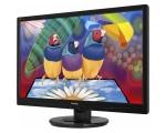 """24"""" Wide LED ViewSonic VA2445, VGA- & DVI-sisend, 5 ms, Full HD resolutsioon 1920x1080, kasutatud, garantii 1 aasta"""