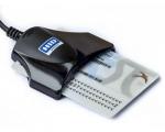 ID-kaardilugeja Omnikey 1021, USB-liides, kasutatud, garantii 6 kuud