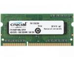 Sülearvuti SO-DIMM DDR3L 4GB PC3-12800/1600 Crucial, 1,35V CL11, uus, garantii 5 aastat